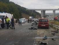 Beykoz'da feci kaza: 1 ölü, 2 yaralı