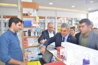 MHP'den Esnafa 'Siftah Bizden Bereket Allah'tan' Ziyareti
