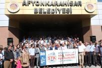 KADINA ŞİDDET - Tekel Bayii Ruhsatı Vermeyen Belediye Başkanına STK'lardan Destek