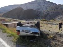 ÇAYıRHAN - Araç Takla Attı Açıklaması 2 Yaralı