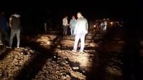 Araklı-Bayburt Karayolu Ulaşıma Kapandı