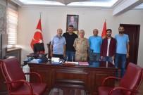 Gazetecilerden Jandarma Komutanı Kılıç'a Veda Ziyareti