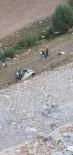 Otomobil 170 Metrelik Uçuruma Yuvarlandı Açıklaması 1 Ölü, 1 Yaralı