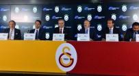 YUSUF GÜNAY - Galatasaray Futbol Takımı'nın Forma Kol Sponsoru Magdeburger Sigorta Oldu