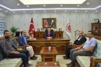 MUHABIR - Gazetecilerden Başsavcı Karahan'a Ziyaret
