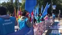 UYGUR TÜRKÜ - İsviçre'de Uygurlar Ve Tibetliler Çin'i Protesto Etti
