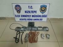 Kızıltepe'de 2 Şüpheli Hırsızlıktan Gözaltına Alındı