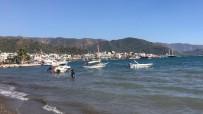 TURİZM CENNETİ - Marmaris'te Plajlar Yabancı Turistlere Kaldı