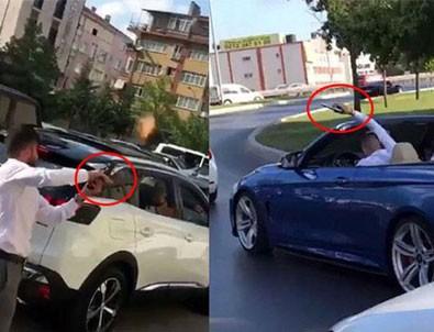 Sefaköy'de düğün konvoyunda terör estiren 6 maganda tutuklandı
