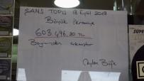 ŞANS TOPU - Talih Kuşu Edirne'den Uçtu