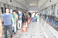 PARAŞÜTÇÜ - TEKNOFEST'te Airbus A400M Uçağı İçin Vatandaşlar Kuyruğa Girdi