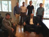 TOLUNAY KAFKAS - Tolunay Kafkas, TFF Kayseri Bölge Müdürlüğü'nü Ziyaret Etti