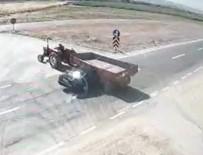 Afyonkarahisar'da Feci Kaza Açıklaması 2 Ölü, 1 Ağır Yaralı