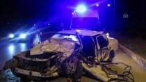 Afyonkarahisar'da Trafik Kazası Açıklaması 1 Ölü, 2 Yaralı