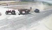 Afyonkarahisar'da Trafik Kazası Açıklaması 2 Ölü, 1 Ağır Yaralı