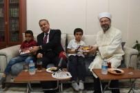 MEDINE - Diyanet İşleri Başkanı Erbaş, Din Görevlisinin Evine Misafir Oldu