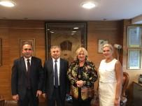 TURIZM YATıRıMCıLARı DERNEĞI - DTO Heyetinden Turizm Bakanı Ersoy'a Ziyaret