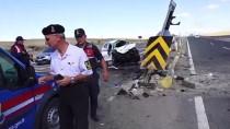 Kırıkkale'de İki Otomobil Çarpıştı Açıklaması 7 Yaralı