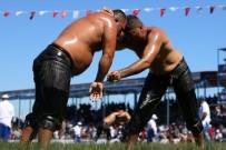 ALTIN KEMER - Manisa'da 4. Kez Düzenlenen Yuntdağı Yağlı Pehlivan Güreşleri Başladı