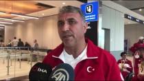 ABDULLAH ÖZTÜRK - Milli Para Masa Tenisçiler Yurda Döndü