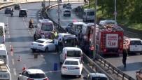 Sefaköy'de Trafik Kazası Açıklaması 2 Yaralı