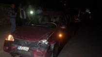 BEŞPıNAR - Adıyaman'da Trafik Kazası Açıklaması 5 Yaralı