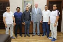 Afganistanlılar Yardımlaşma Ve Dayanışma Derneği'nden Kazım Kurt'a Ziyaret