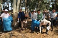 Başkan Gültak, Adanalıoğlu Ormanlık Alanında Çöp Topladı