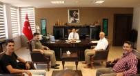 YEREL GAZETE - Gazetecilerden Kaymakam Erat'a Ziyaret