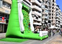SPOR OYUNLARI - İzmir'de Otomobilsiz Sokaklar Etkinliği