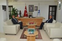 Kaymakam Kurnaz'dan Başkan Akkaya'ya İade-İ Ziyaret