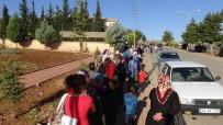ÖZEL GÜVENLİK GÖREVLİSİ - Kilis'te 9 Aylık İş İçin Uzun Kuyruklar Oluştu
