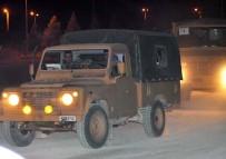 ASKERİ KONVOY - Sınırın Sıfır Noktasına Askeri Araç Sevkiyatı