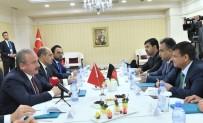 PARLAMENTO - TBMM Başkanı Şentop, Afganistan Meclis Başkanı Rahmani İle Bir Araya Geldi