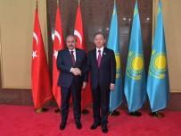 PARLAMENTO - TBMM Başkanı Şentop, Kazak Mevkidaşı Nigmatulin İle Görüştü