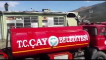 Afyonkarahisar'da Palet İmalathanesinde Yangın