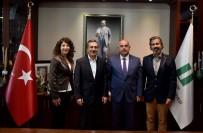 Anadolu Üniversitesi'nden Başkan Ataç'a Ziyaret