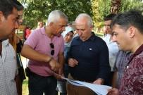 Başkan Gültak, Huzurkent'te İncelemelerde Bulundu