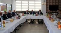 BAYBURT ÜNİVERSİTESİ REKTÖRÜ - Bayburt Emniyet Müdürü Er'e Veda Yemeği
