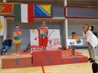 Ritmik Cimnastik Takımı Bosna Hersek'ten 11 Madalya İle Döndü