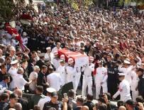 DONANMA KOMUTANI - Şehit astsubay Tantürk son yolculuğuna uğurlandı