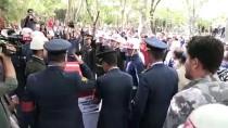 KONYA VALİSİ - Şehit Topçu Teğmen Dinçer, Son Yolculuğuna Uğurlandı