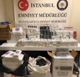 Sultangazi'de Kaçak Sigara Üretilen Mahzen Ortaya Çıkarıldı