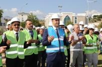 KURBAN KESİMİ - ALKÜ'de Çarşı İnşaatının Temeli Atıldı