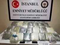 Esenyurt'ta 38 Kilo Uyuşturucu Ele Geçirildi