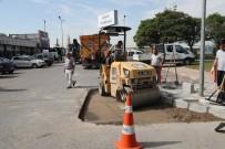 Gebze'de Ekipler Cadde Ve Sokakları Elden Geçiriyor