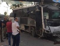 SELAHATTIN EYYUBI - Çevik kuvvet servisine bombalı saldırı