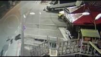 Köpeklerin Ayı Kovalaması Güvenlik Kamerasında