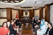 Kültür Gezisinden Dönen Kadınlardan Vali Akbıyık'a Ziyaret