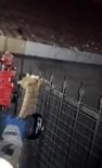 (Özel) Evin Balkonundan Düşüp Demir Korkuluklara Saplanan Kedinin İnanılmaz Kurtuluşu